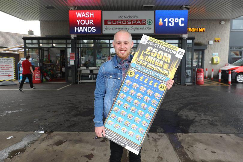 shawn keeley scratchcard jackpot winner