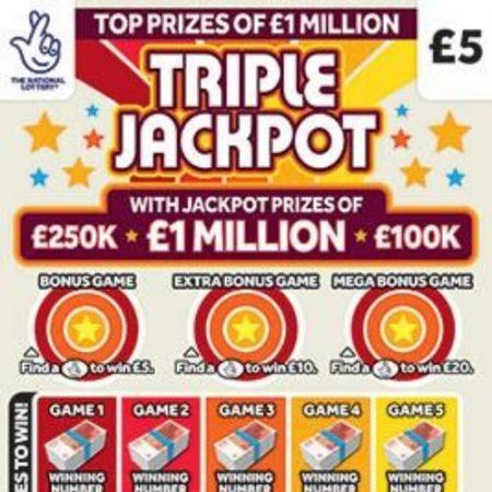 Triple Jackpot 2020 Scratchcard