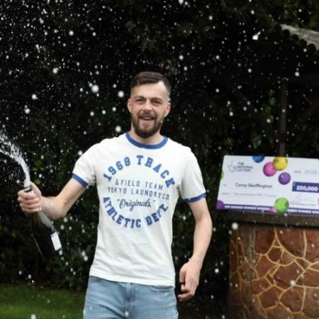 County Tyrone Man Wins £250,000 Scratchcard Jackpot