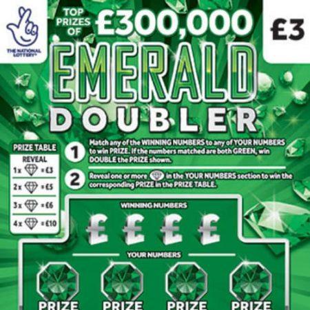 Emerald Doubler Scratchcard