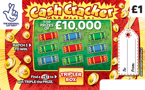 cash cracker scratchcard