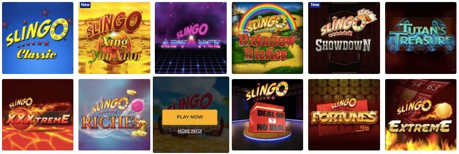 Foxy Games Slingo games