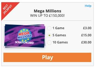 mega millions jackpot.com scratchcard