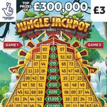 Jungle Jackpot Scratchcard