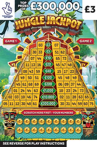 Jungle Jackpot Scratchcard