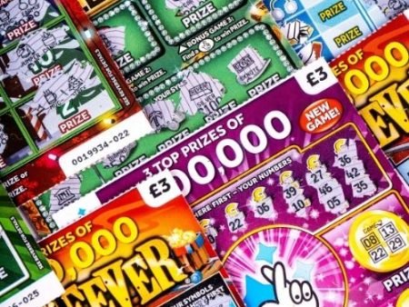 When did scratchcards come out?