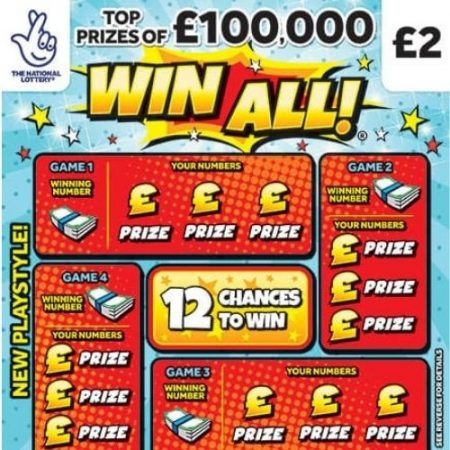 Win All 2020 Scratchcard