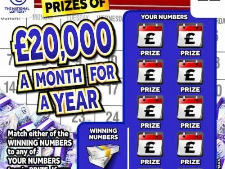 New National Lottery Scratchcards: December 2020