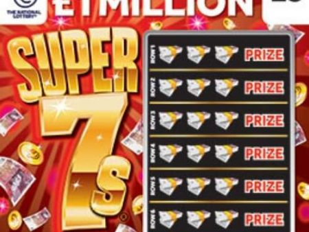 Super 7s (2021) Scratchcard