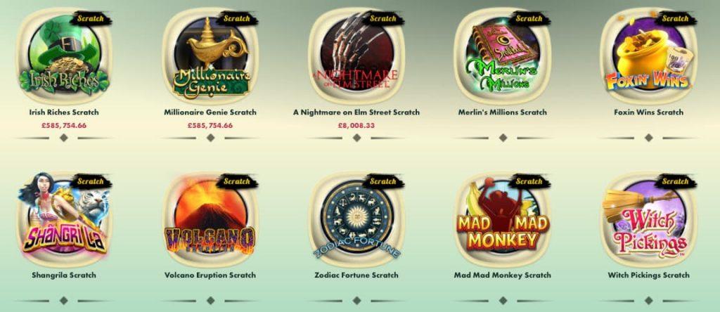 777 online casino online scratchcards screenshot