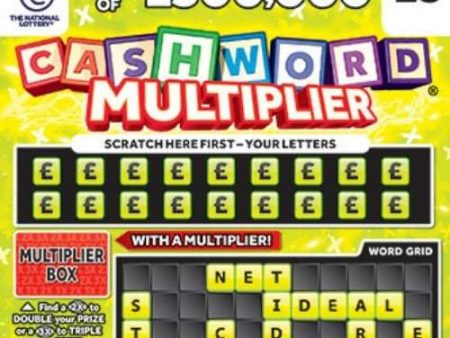 Cashword Multiplier (1242) Scratchcard