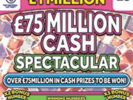 New National Lottery Scratchcards: June 2021
