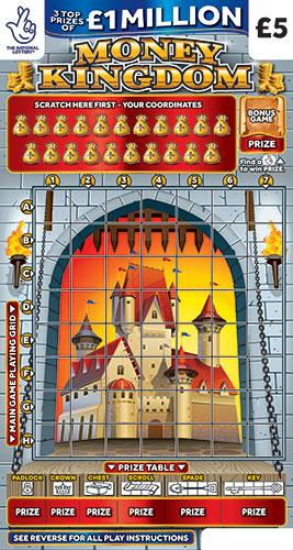 Money Kingdom 2021 scratchcard