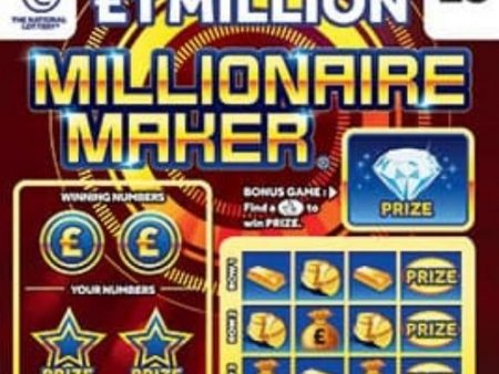 New National Lottery Scratchcards: August 2021