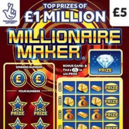 Millionaire Maker Scratchcard