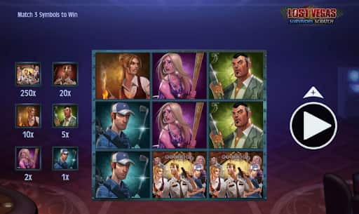 lost vegas slots screenshot