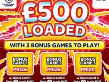 New National Lottery Scratchcards: September 2021