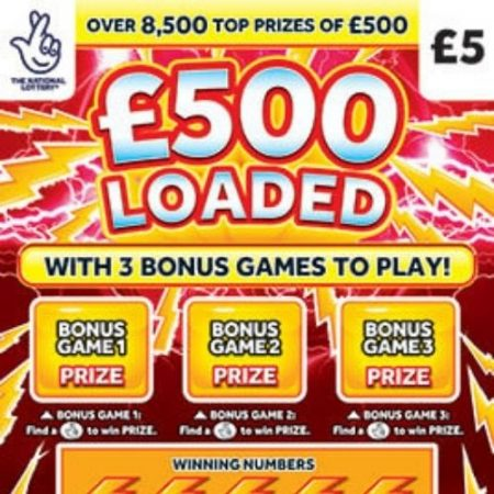 £500 Loaded Scratchcard