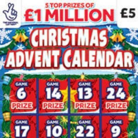 Christmas Advent Calendar (2021) Scratchcard
