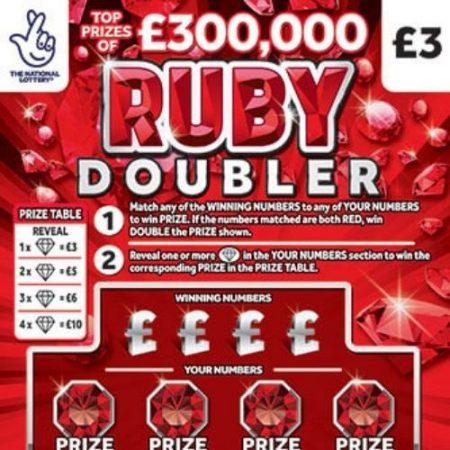Ruby Doubler Scratchcard