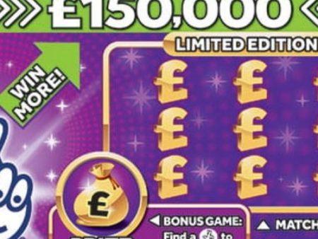 £150,000 Purple Scratchcard