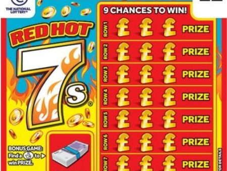 New National Lottery Scratchcards: October 2021